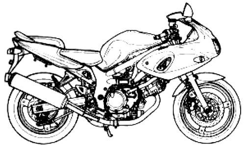 Blueprints > Motorcycles > Suzuki > Suzuki SV650S (2000)