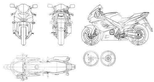 Yamaha YXF600R Thundercat (1996)