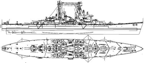 Blueprints > Ships > Battleships (UK) > HMS Vanguard 1946