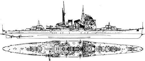 Blueprints > Ships > Cruisers (Japan) > IJN Takao 1935