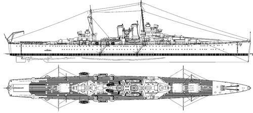 Blueprints > Ships > Cruisers > USS CA-45 Wichita 1939