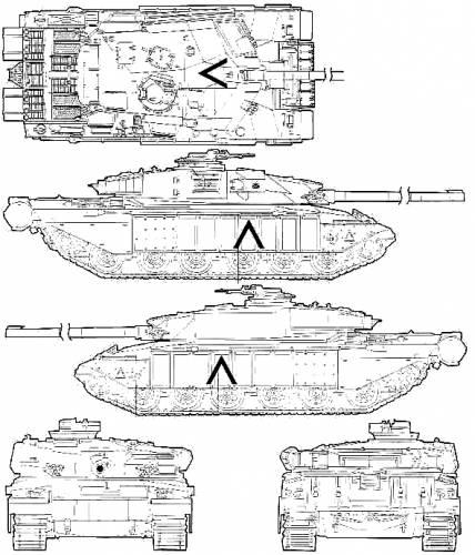 Blueprints > Tanks > Tanks C > Challenger Mk.III