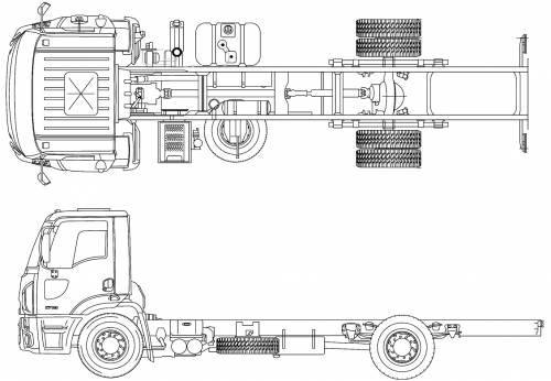 Blueprints > Trucks > Ford > Ford BR Cargo 1719 (2012)