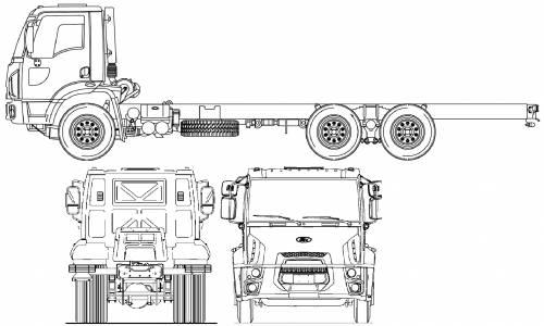 Blueprints > Trucks > Ford > Ford BR Cargo 2623 (2012)
