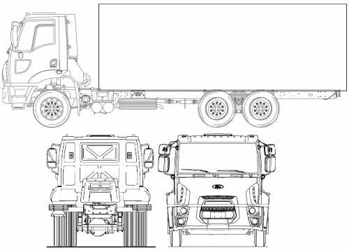 Blueprints > Trucks > Ford > Ford BR Cargo 2629 (2012)