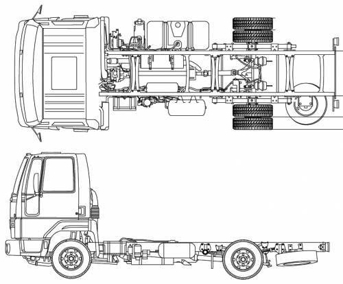 Blueprints > Trucks > Ford > Ford BR Cargo 816 (2012)