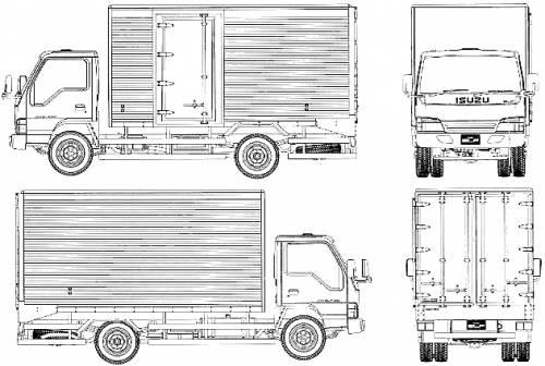 Blueprints > Trucks > Isuzu > Isuzu Elf