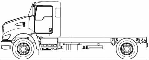 Blueprints > Trucks > Kenworth > Kenworth T370 (2011)