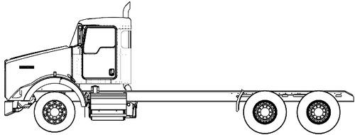 Blueprints > Trucks > Kenworth > Kenworth T800 2016