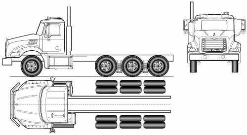 Blueprints > Trucks > Mack > Mack Granite Axle Back GU814