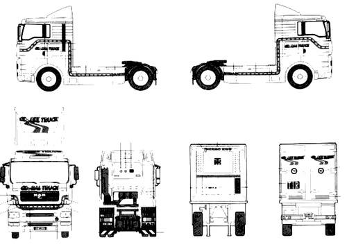 Blueprints > Trucks > MAN > MAN TGA 18.460