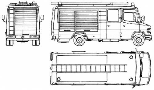 Blueprints > Trucks > Mercedes-Benz > Mercedes-Benz L809D