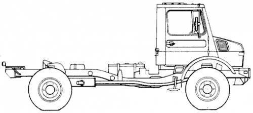 Blueprints > Trucks > Mercedes-Benz > Mercedes-Benz Unimog