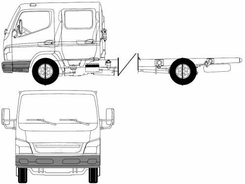 Blueprints > Trucks > Mitsubishi-Fuso > Mitsubishi-Fuso