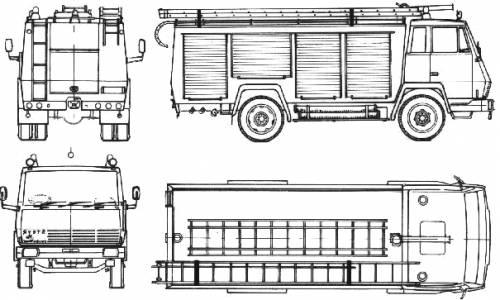 Blueprints > Trucks > Trucks > Steyr-Daimler-Puch 790