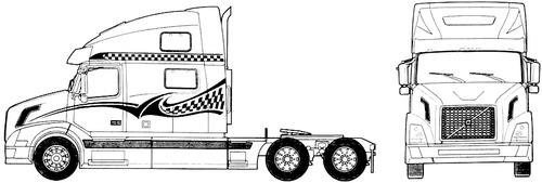 Blueprints > Trucks > Volvo > Volvo VN 780