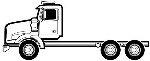 Blueprints > Trucks > Western Star > Western Star 4900 SB