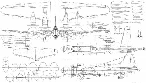 Blueprints > WW2 Airplanes > Boeing > Boeing B-17
