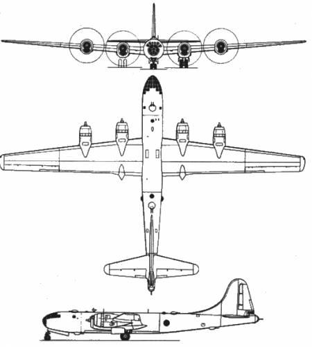 Blueprints > WW2 Airplanes > Boeing > Boeing B-29