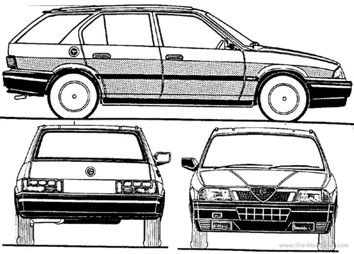Blueprints > Cars > Alfa Romeo > Alfa Romeo 33 Sportwagon