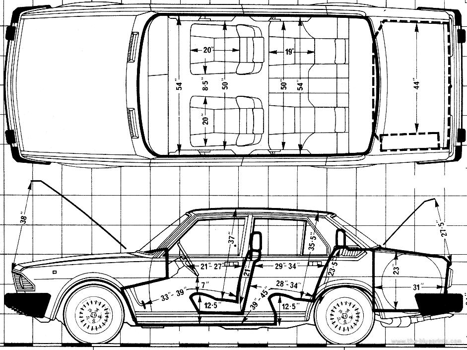 Blueprints > Cars > Alfa Romeo > Alfa Romeo Alfa 6 (1980)