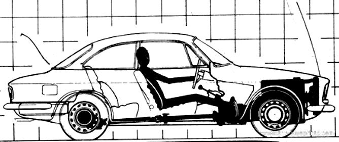 Blueprints > Cars > Alfa Romeo > Alfa Romeo Giulia 1300 GT