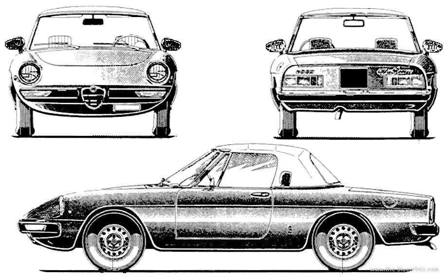Blueprints > Cars > Alfa Romeo > Alfa Romeo Spider (1974)