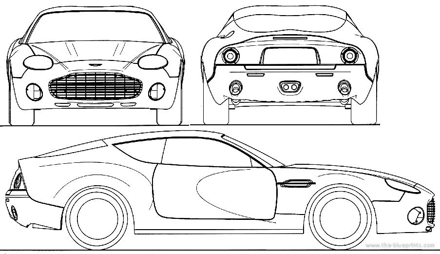 Blueprints > Cars > Aston Martin > Aston Martin DB7 GT