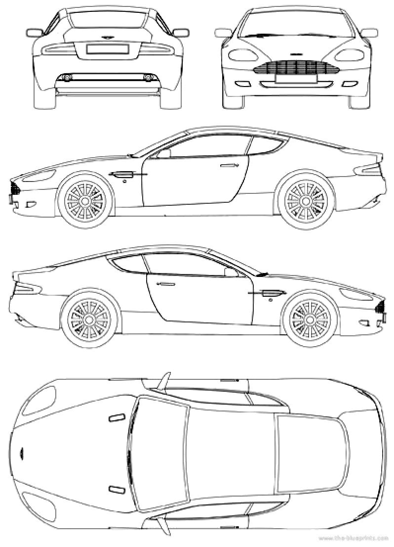 Blueprints > Cars > Aston Martin > Aston Martin DB9