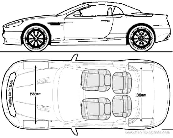 Blueprints > Cars > Aston Martin > Aston Martin DBS