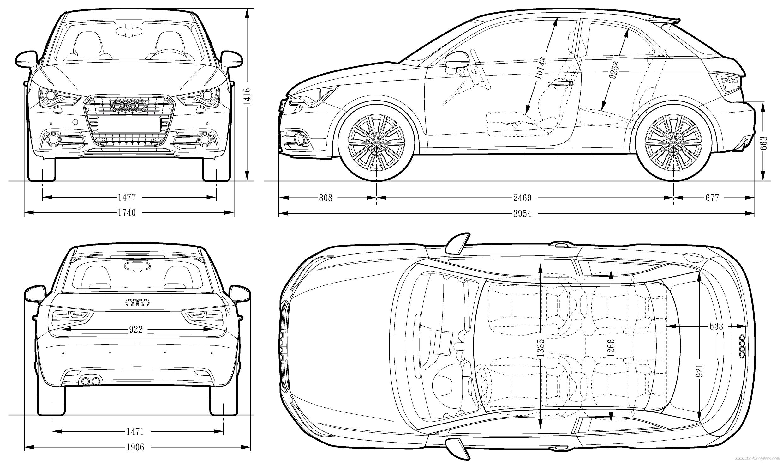 Dimension Audi A1 Sportback. dimensions audi tunisie. audi