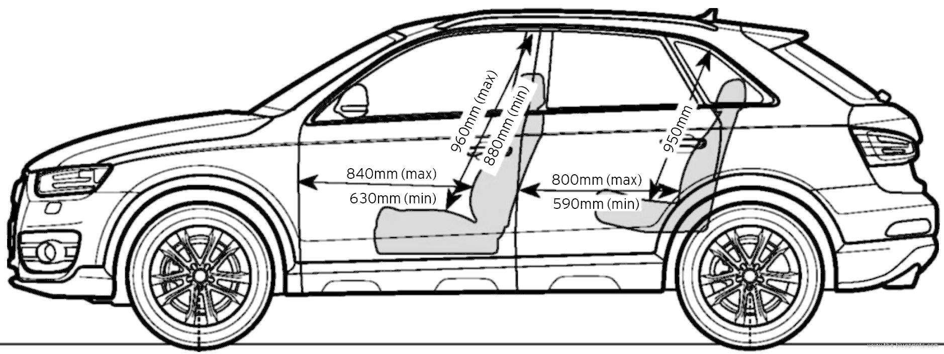 Blueprints > Cars > Audi > Audi Q3 2.0 TDI Sport (2013)