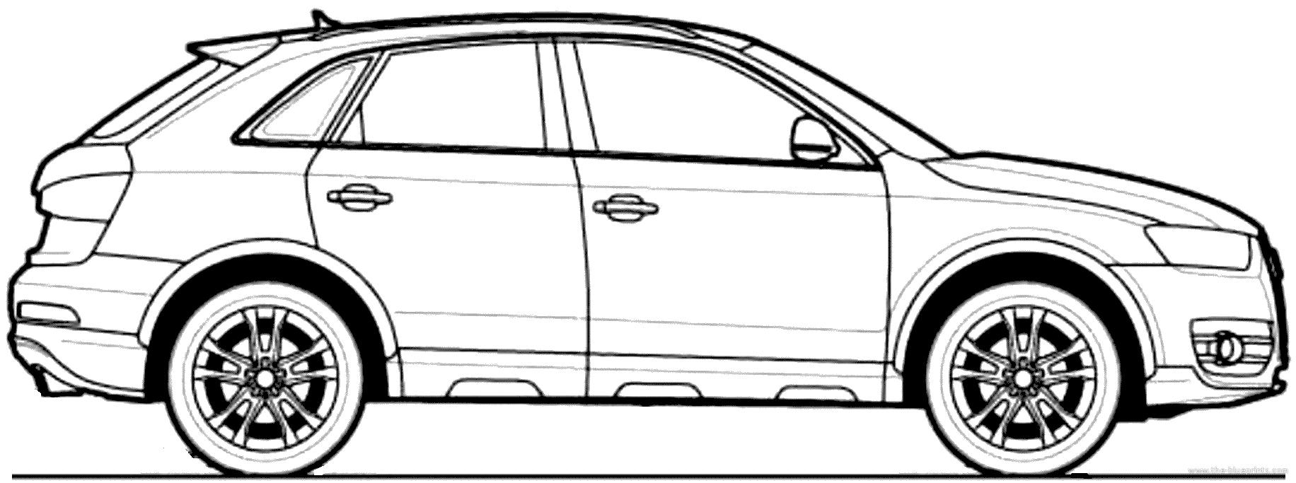 Blueprints > Cars > Audi > Audi Q3 (2012)