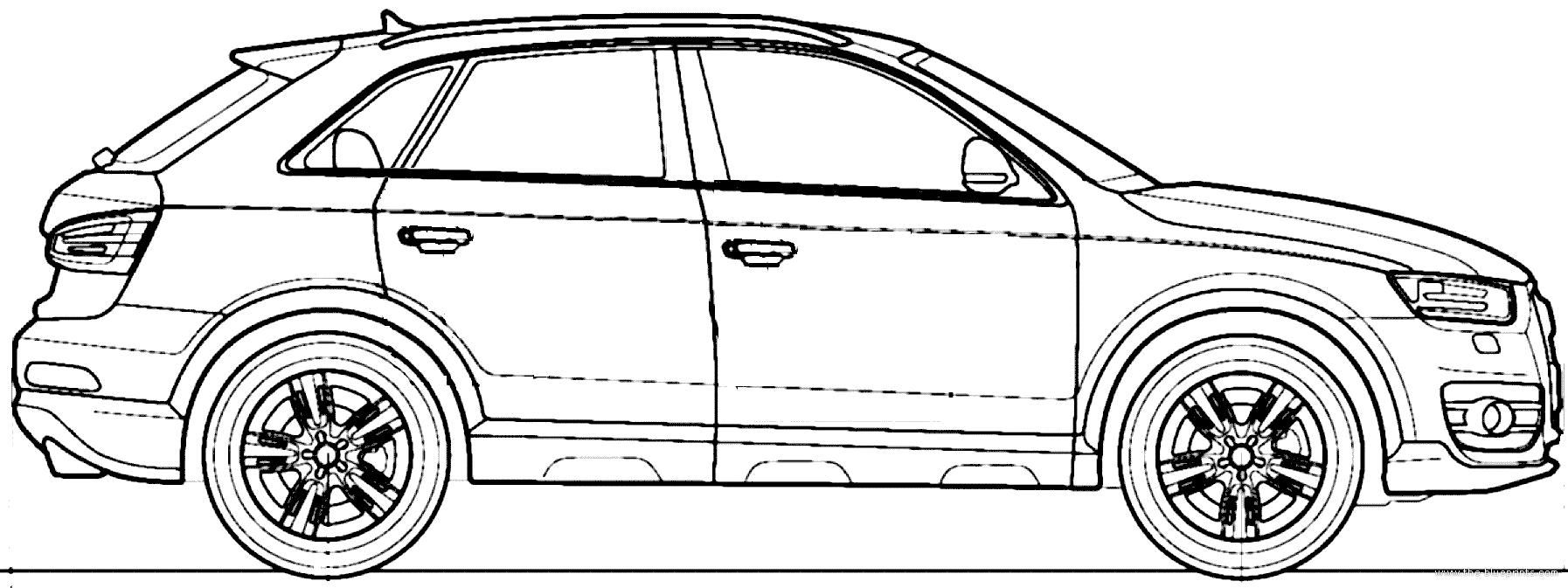 Blueprints > Cars > Audi > Audi Q3 (2014)