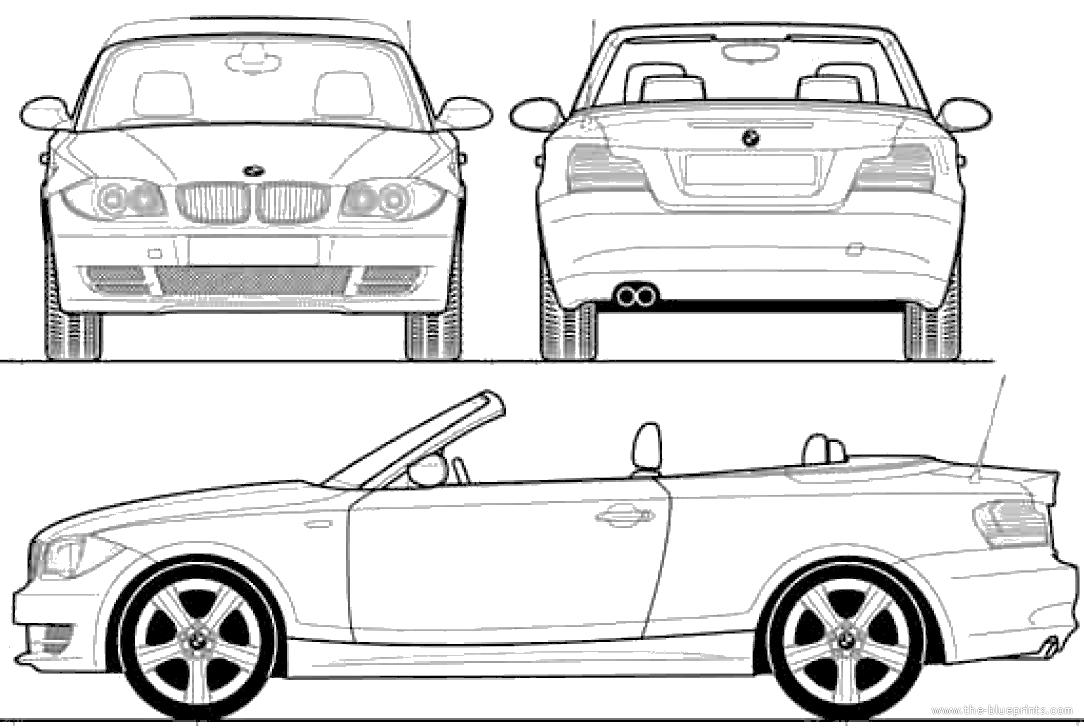 Blueprints > Cars > BMW > BMW 128i Convertible (2008)