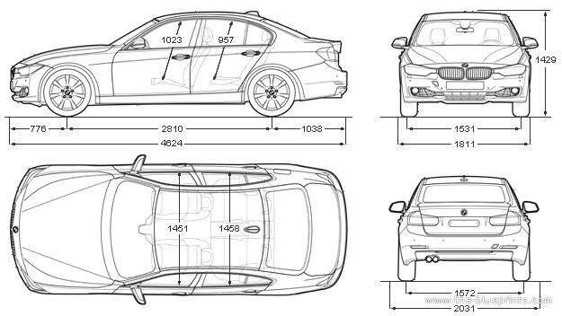 BMW 3-Series Sedan F30 (2012)
