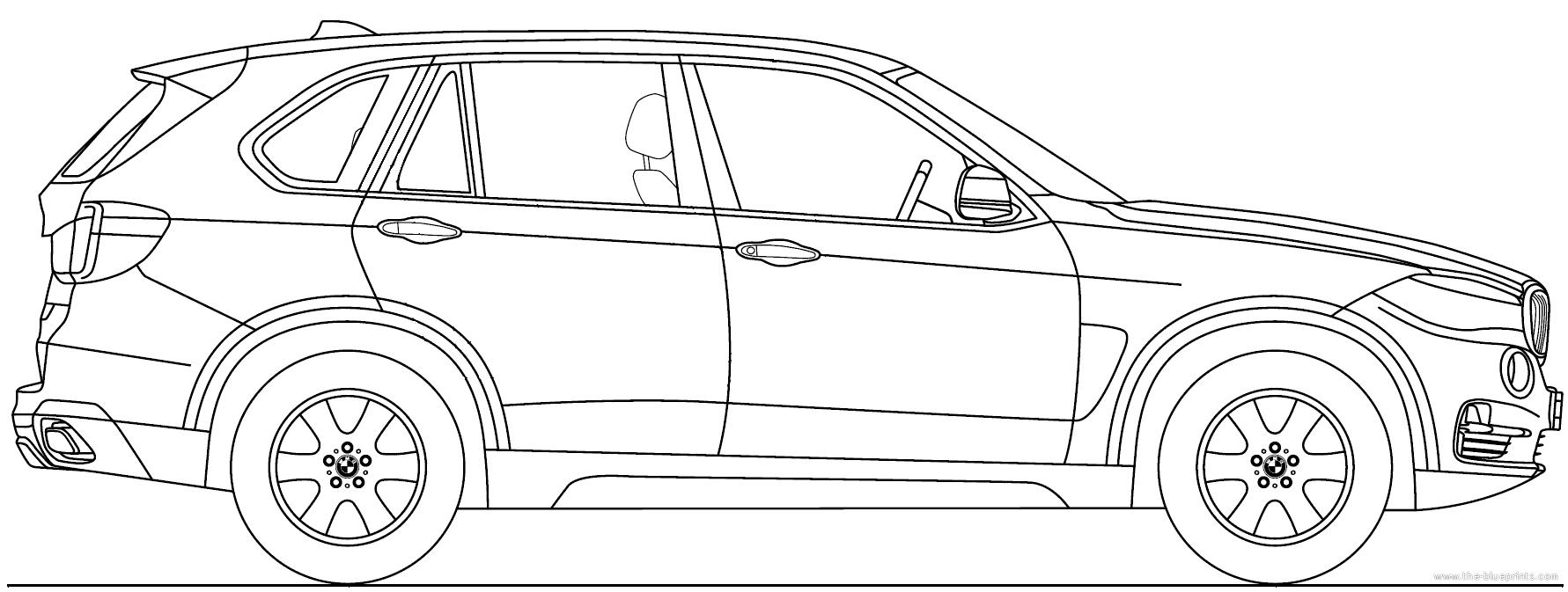 Blueprints > Cars > BMW > BMW X5 (2013)