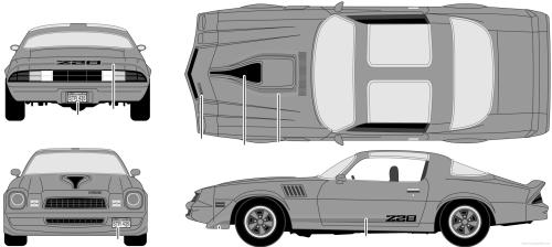 small resolution of chevrolet camaro z28 1979