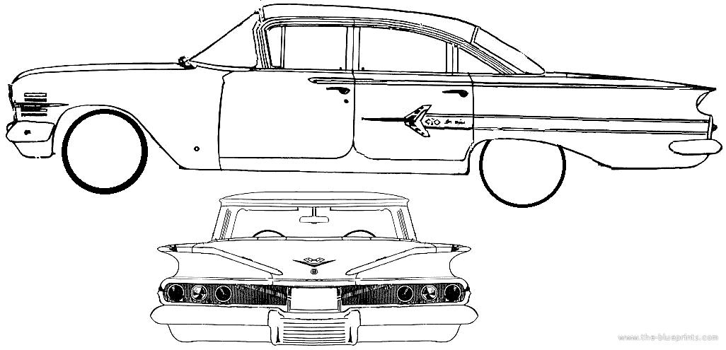 Blueprints > Cars > Chevrolet > Chevrolet Impala 4-Door