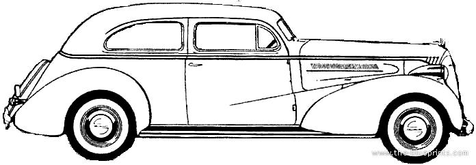 Blueprints > Cars > Chevrolet > Chevrolet Master DeLuxe 2