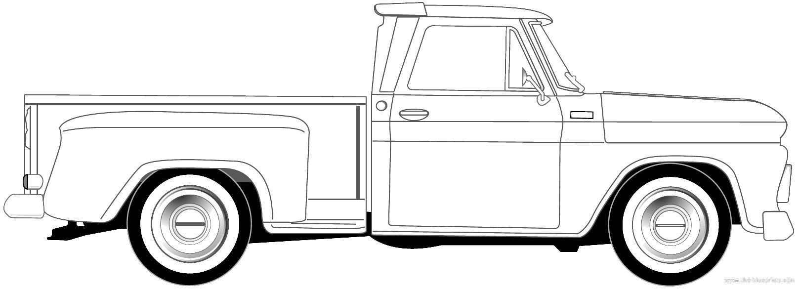 Chevrolet Pick-up Stepside (1965)