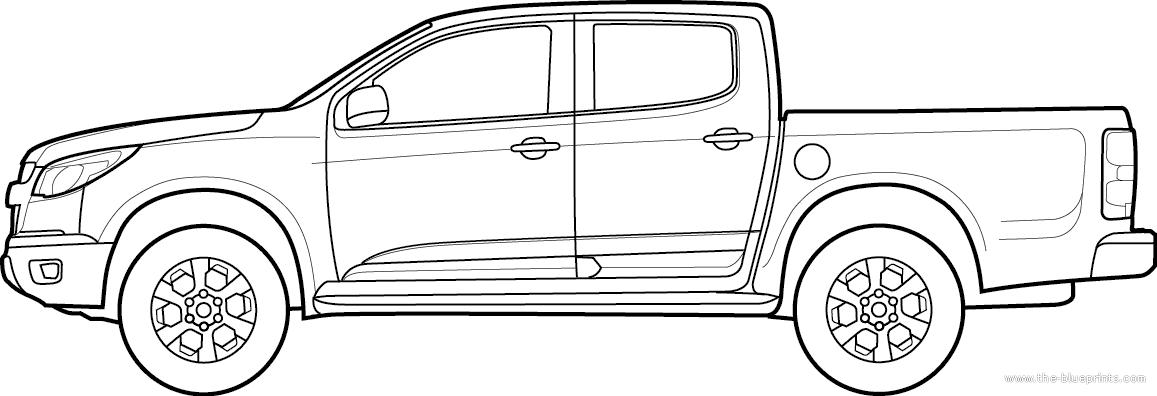 Blueprints > Cars > Chevrolet > Chevrolet S10 (2012)