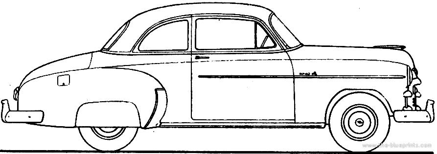 Blueprints > Cars > Chevrolet > Chevrolet Styleline DeLuxe