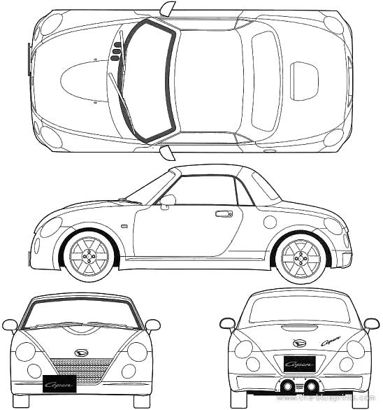 Blueprints > Cars > Daihatsu > Daihatsu Copen