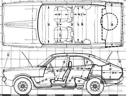 Datsun 140J Violet (1976)