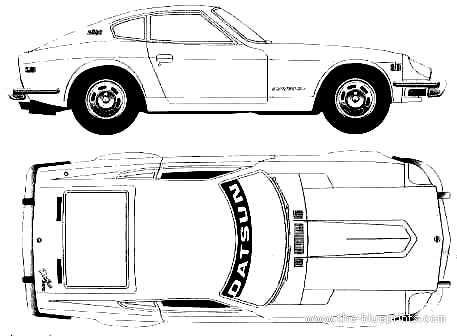 Blueprints > Cars > Datsun > Datsun 240Z