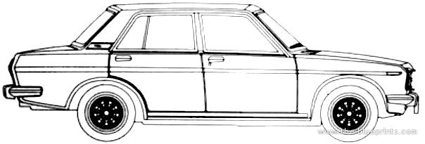 Blueprints > Cars > Datsun > Datsun Bluebird 510 1600 SSS
