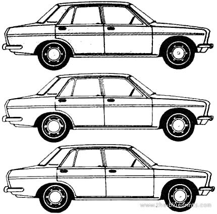 Blueprints > Cars > Datsun > Datsun Bluebird 510 4-Door