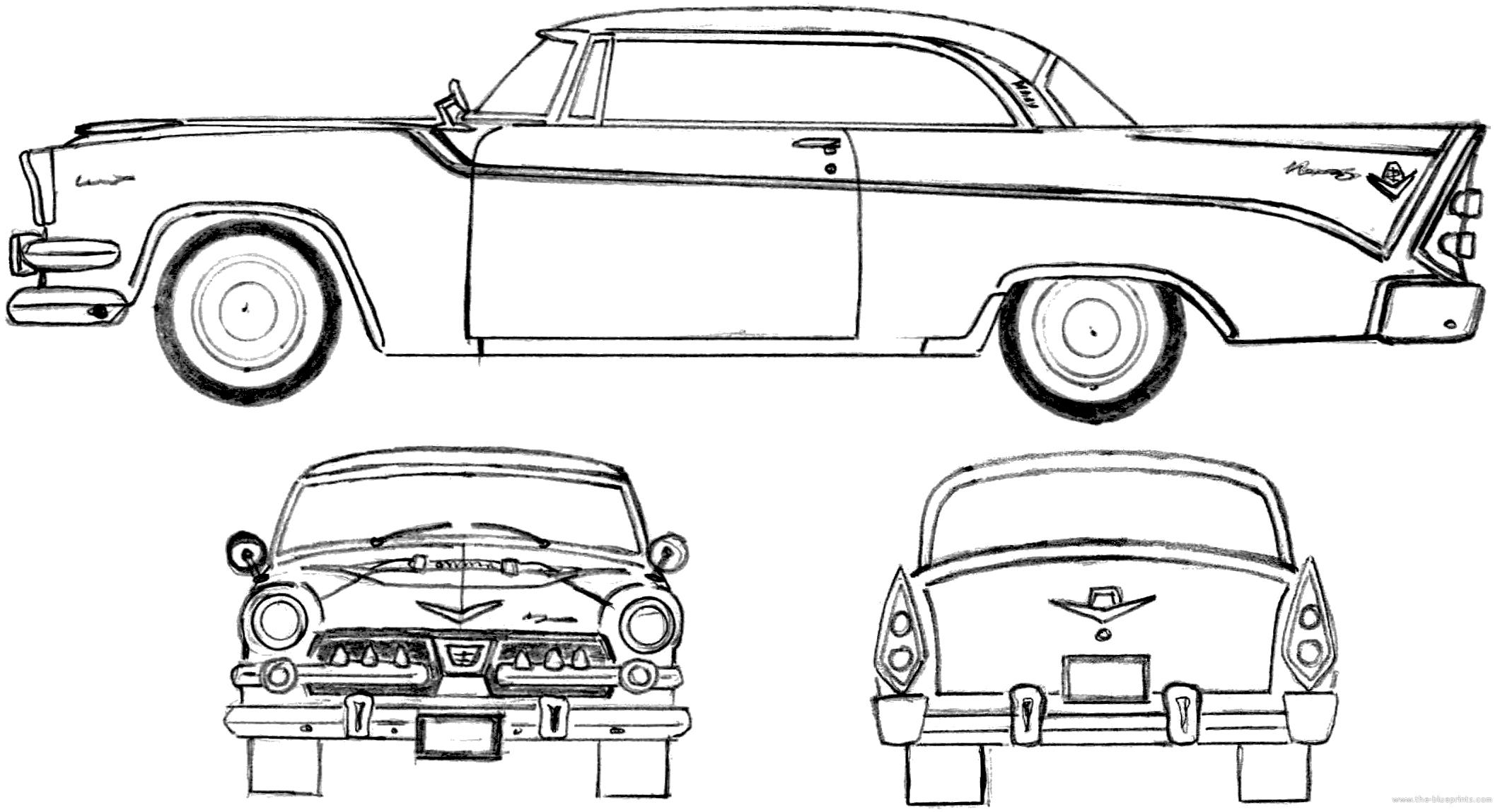 Blueprints > Cars > Dodge > Dodge Custom Royal Lancer 2