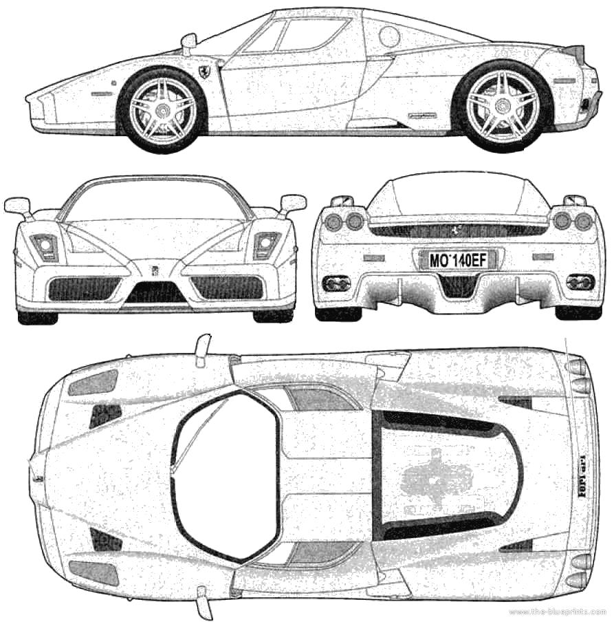 Lamborghini Engine Blueprints, Lamborghini, Free Engine